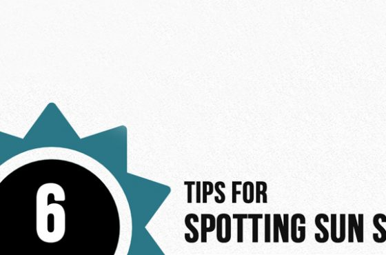 6 Tips For Spotting Sun Spots