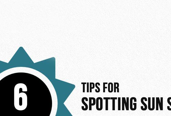 6 Tips For Spotting Sun Spots